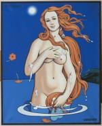 Une peinture d'Alex Varenne.