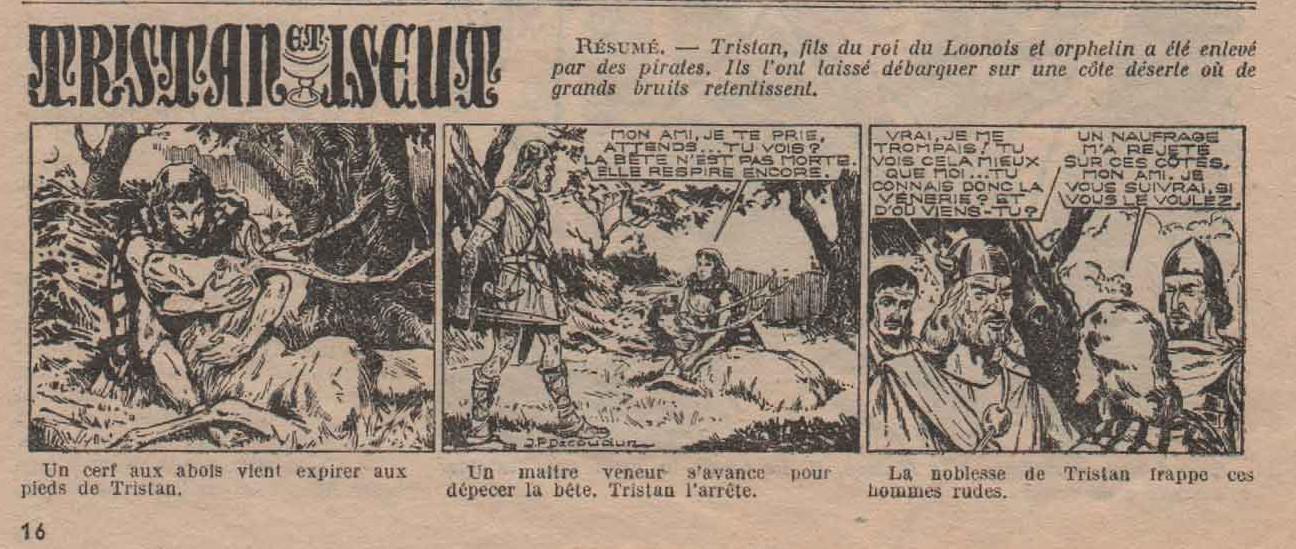 « Tristan et Iseult » De quoi lire n° 12 (01/01/1953).