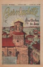 « Les Cloches de Sens » Bernadette n° 385 (18/04/1954).
