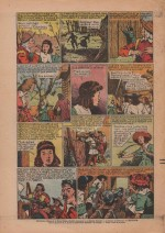 « Face aux Iroquois » Bernadette n° 388 (09/05/1954).