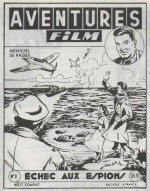 Couverture Aventures Film n° 1 (04/1952).