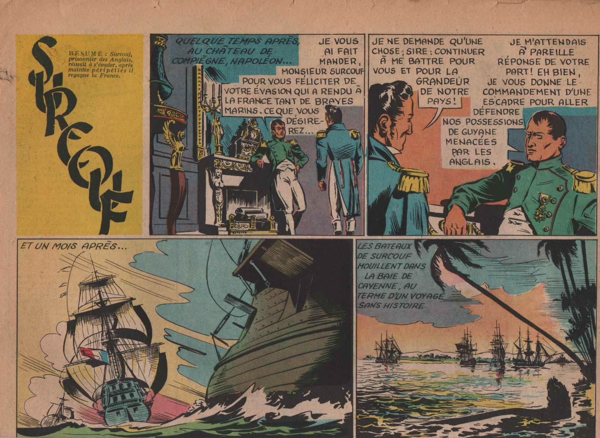 « Surcouf » O.K. n° 122 (04/11/1948).