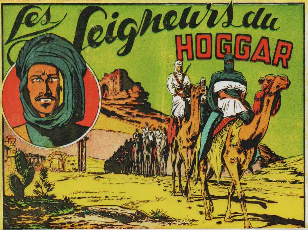 « Les Seigneurs de Hoggar » Les Aventures en images (3e trimestre 1950).