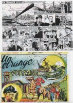 « Un étrange voyage » Collection L'Intrépide (3e trimestre 1950).
