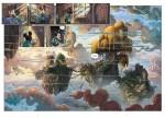 Mickey et la terre des anciens  pages 6 et 7