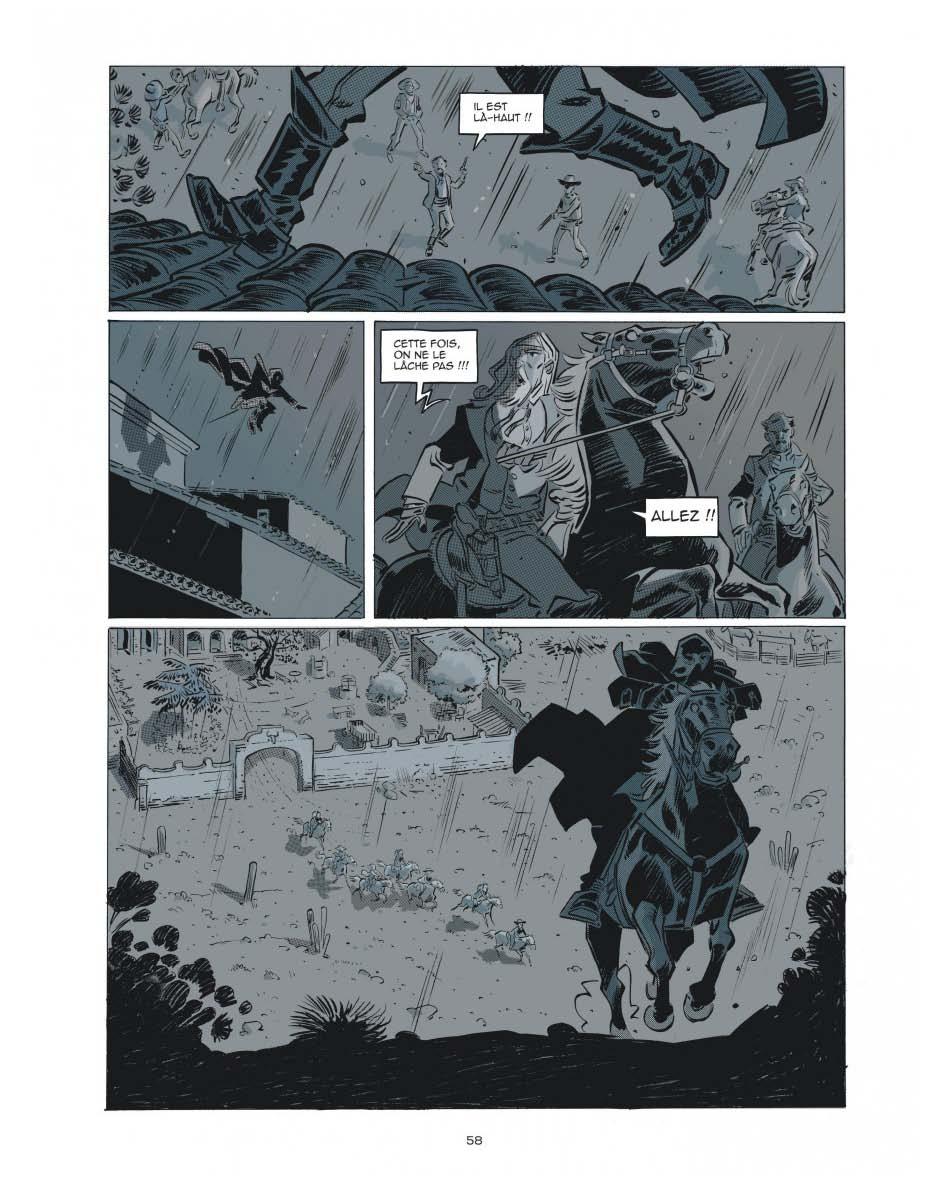 Un héros nocturne (page 58 - Dargaud 2020).