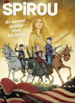 Une digne émulation ? Visuels et premières planches de la prépublication, dans Spirou n° 4302 , le 23 septembre 2020.