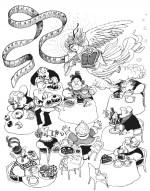 Un exemple de dessin humoristique réalisé par Quino.