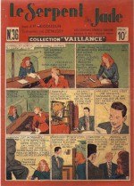 « Le Serpent de jade »  Collection Vaillance n° 36 (07/1948).