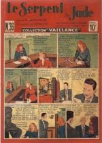 « Le Serpent de jade »  Collection Vaillance n° 36 (07/1948).