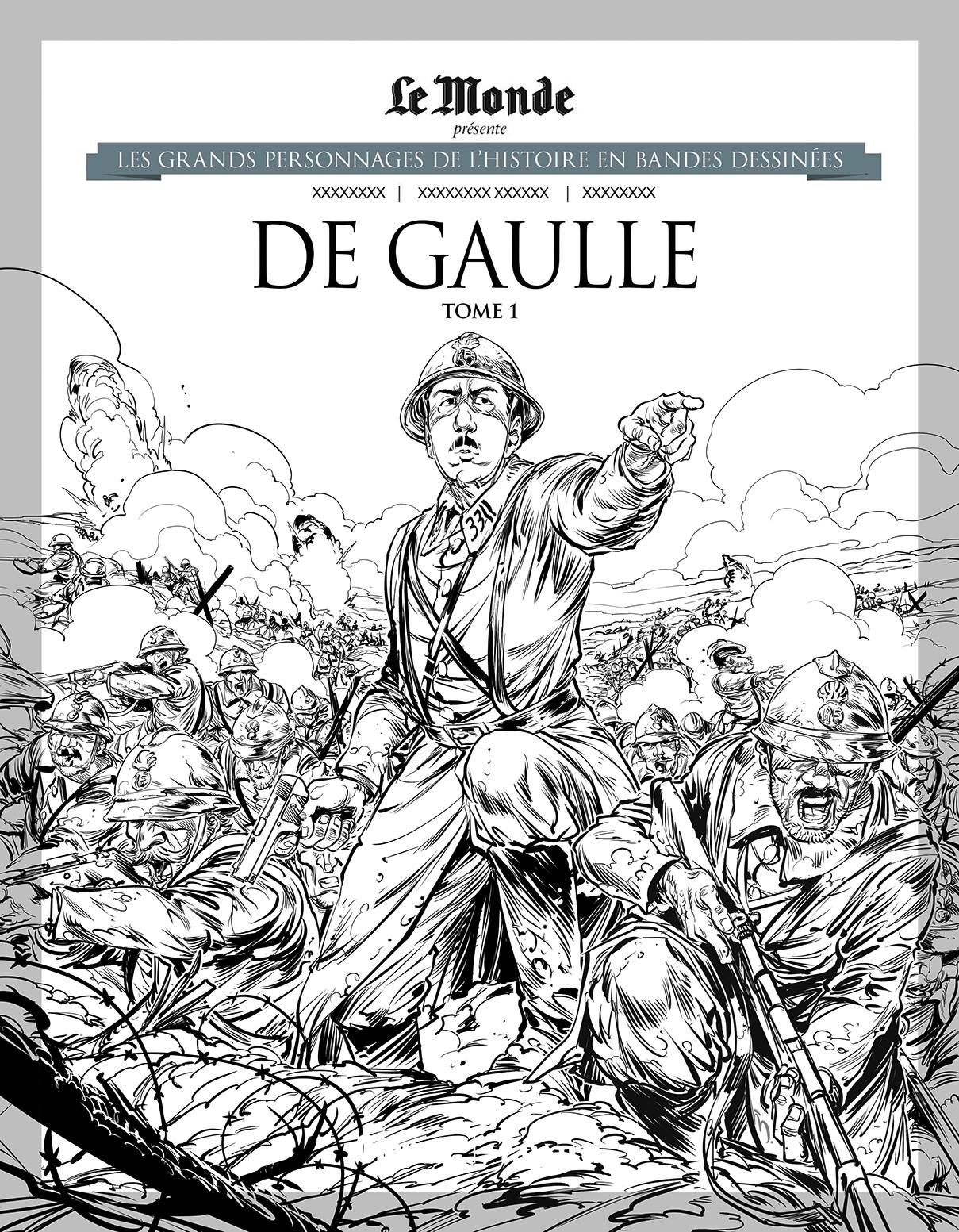 Nouvelle couverture du T1 proposée pour la réédition Le Monde/Glénat (2021).