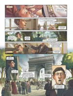 Une fascination pour l'Histoire et la France (tome 1, planche 2 - Glénat 2020).