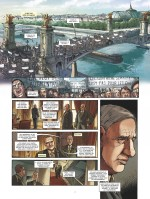 De Gaulle sur le pont... (extrait du tome 3 - planches 1 et 2 - Glénat 2020).