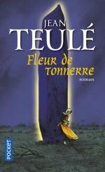 Couverture pour la version poche de « Fleur de tonnerre » (Pocket 2014) et affiche du film (2017).