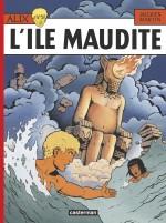 Moloch, en couverture de la réédition de « L'Île maudite » (Jacques Martin, Casterman 1984) et dans « Le Tombeau étrusque » (Casterman 1968).