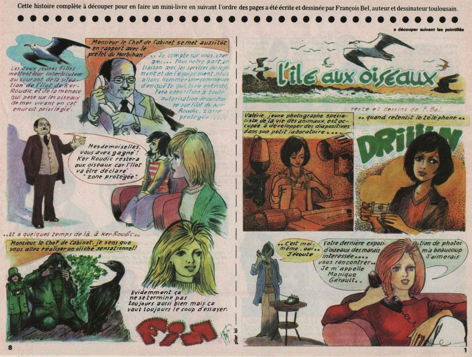 «L'Île aux oiseaux» : Djin n°24 (16/06/1976).