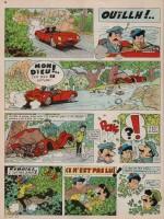 «Jordi: Les Six Lances du colonel Tramnle» : J2 jeunes n°2 (12/01/1967).