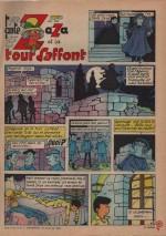 «Tante Zaza et la tour Laffont» : Lisette n°31 (30/07/1967).