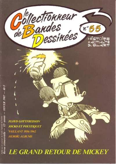Le Collectionneur de bandes dessinées n° 55.