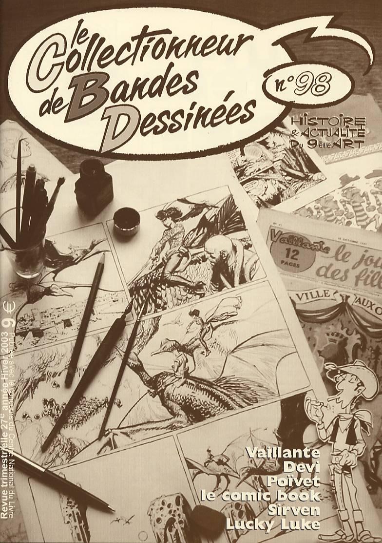 Le Collectionneur de bandes dessinées n° 98.