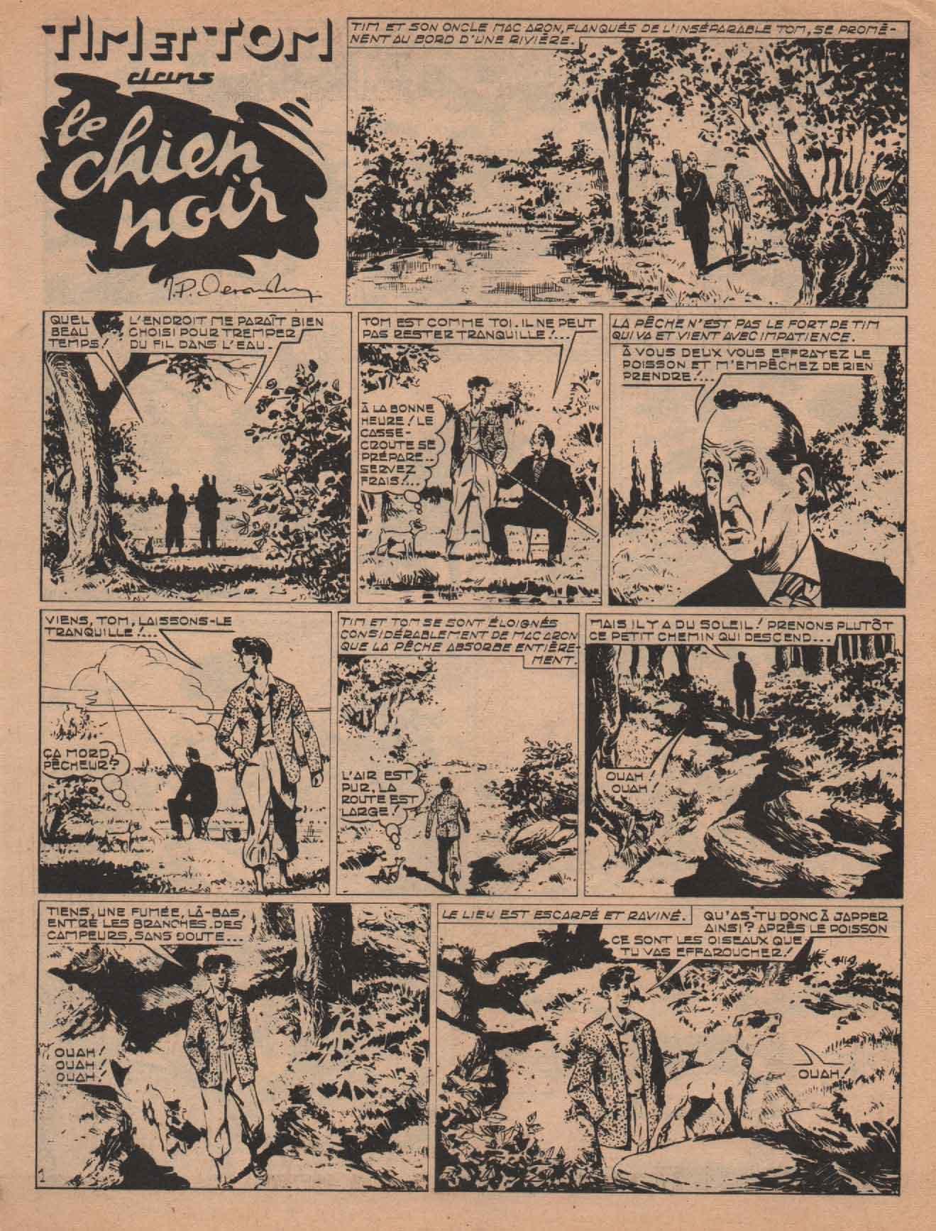 « Tim et Tom » Tim et Tom n° 3 (12/1959).
