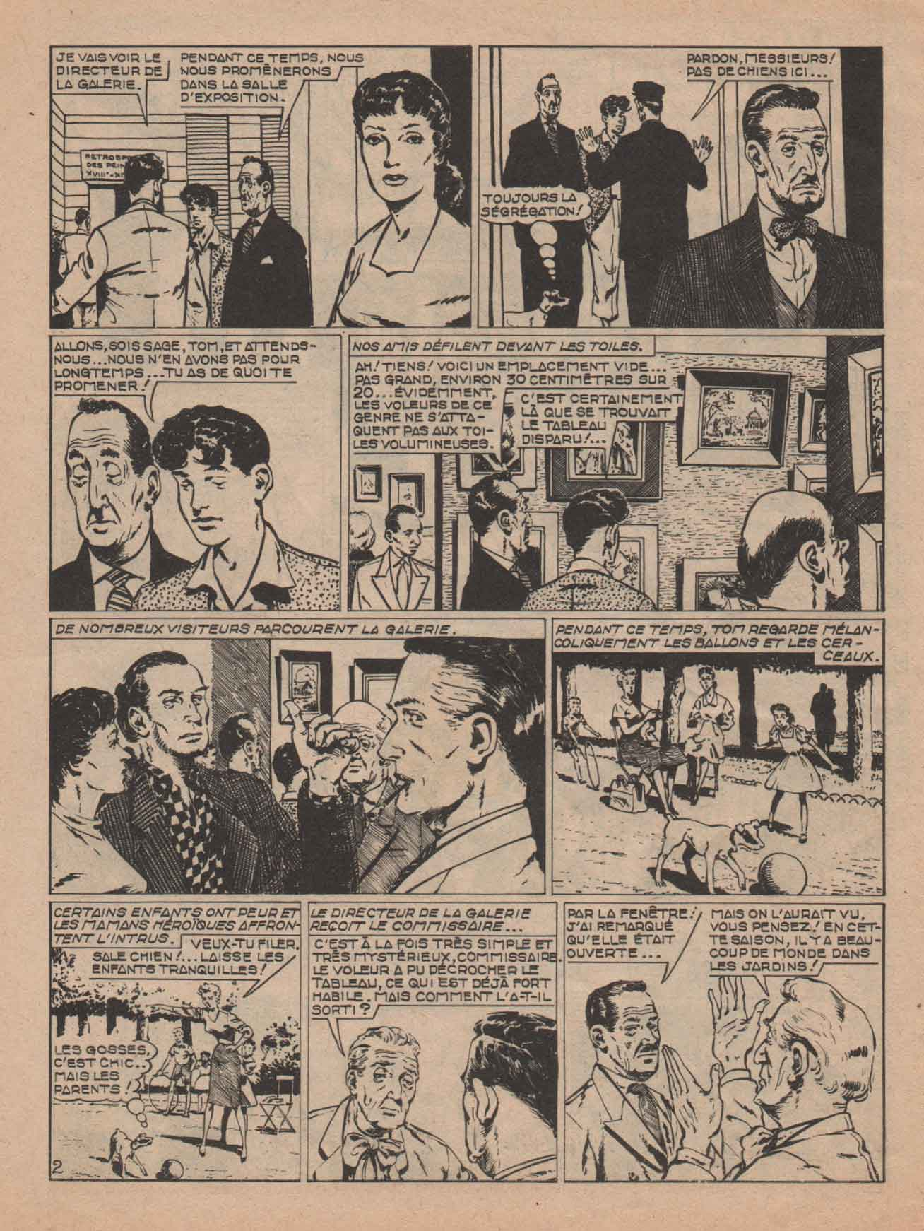 « Tim et Tom » Dynamic n° 26 (09/1960).