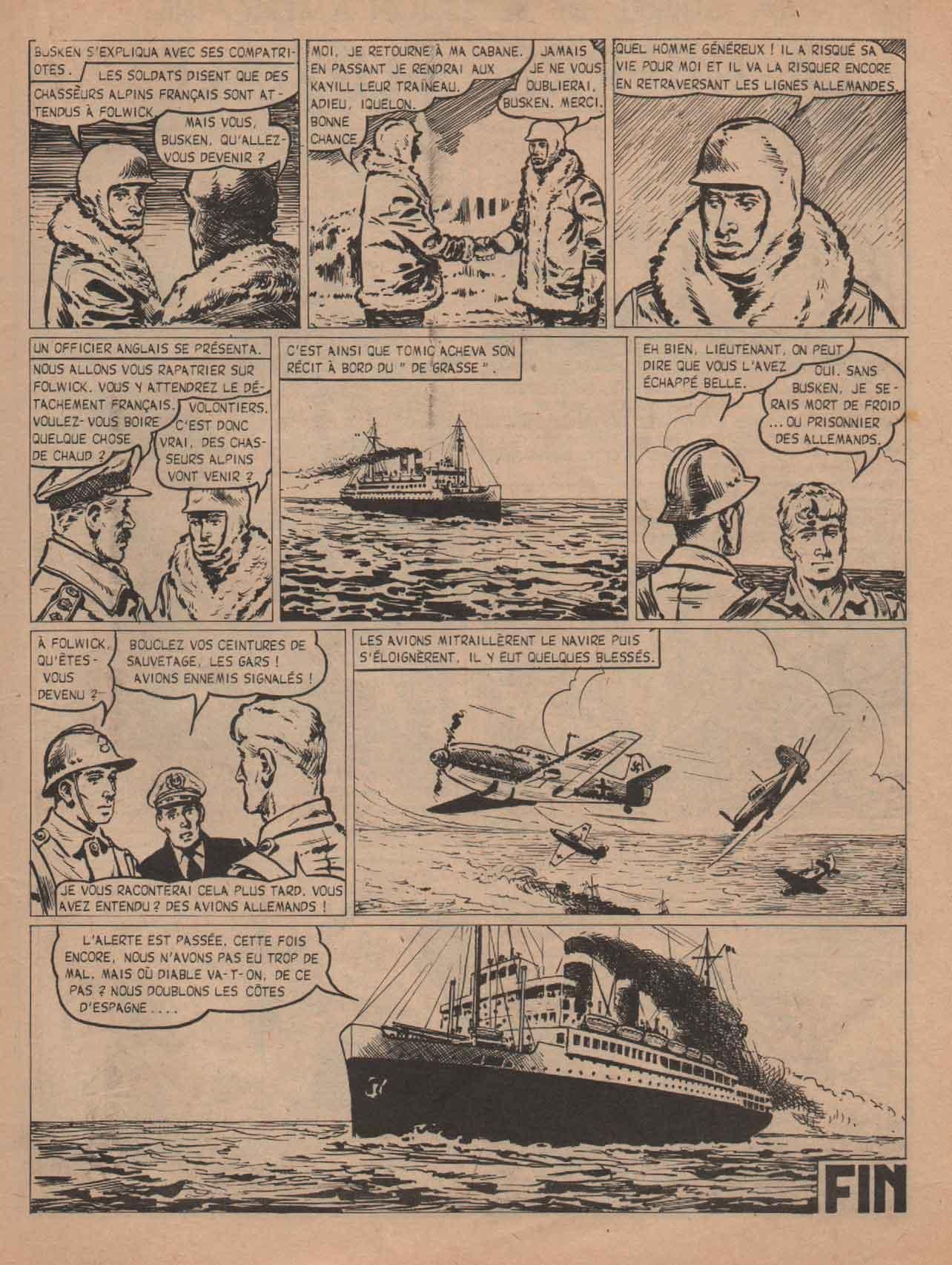 « Tomic » Téméraire n° 40 (01/1962).