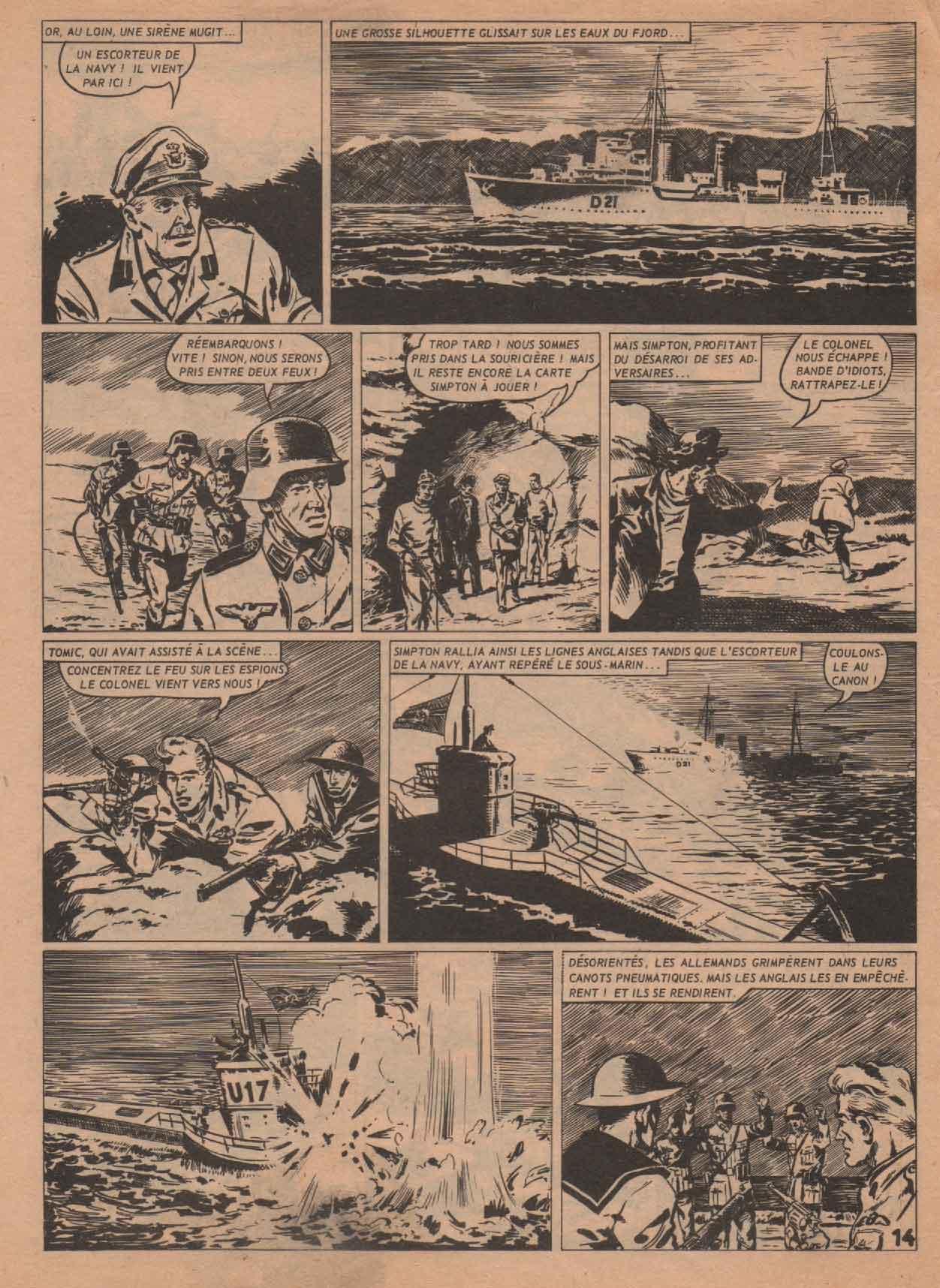 « Tomic » Téméraire n° 42 (03/1962).