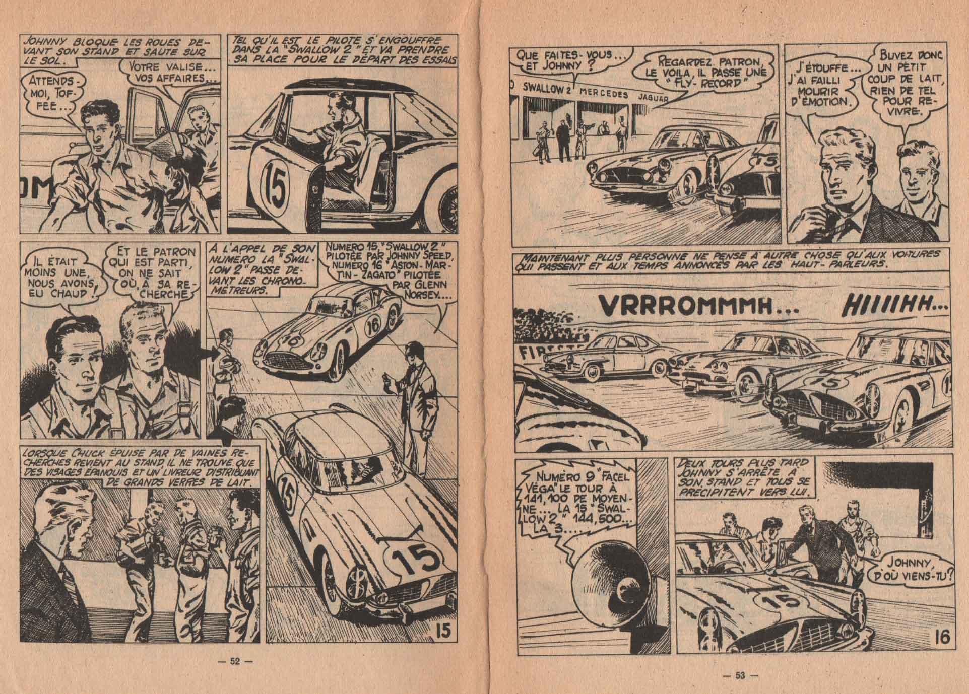 «Johnny Speed» SOS n° 35 (02/1962).