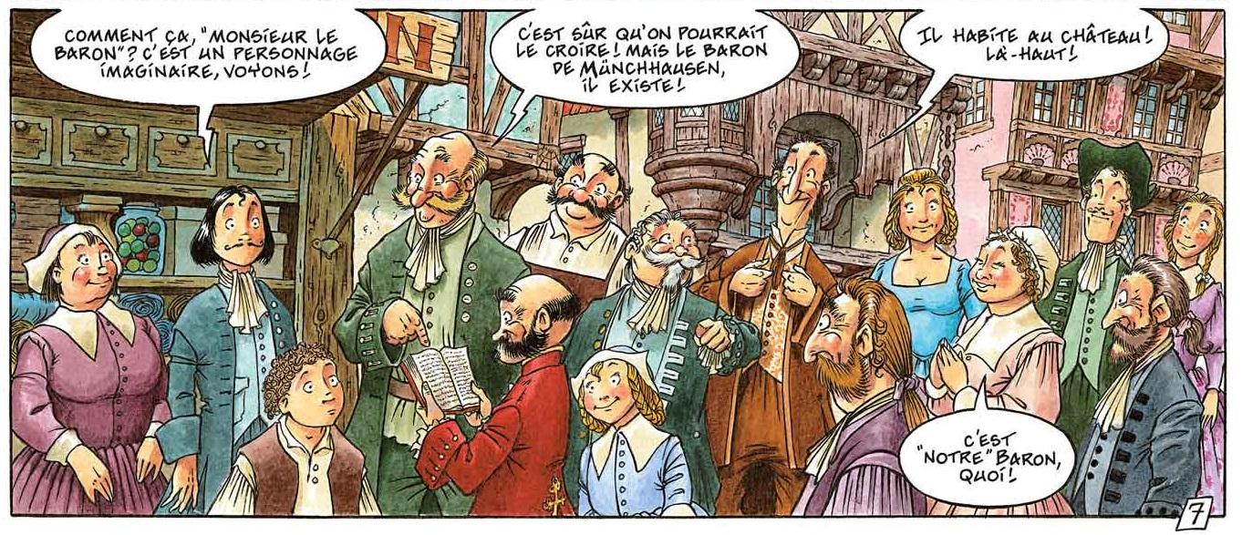 Le Baron page 9 bandeau 4
