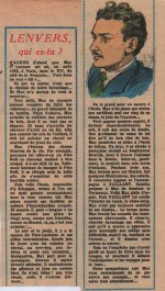 « Lenvers qui es-tu? » Vaillant n° 635 (05/1957).