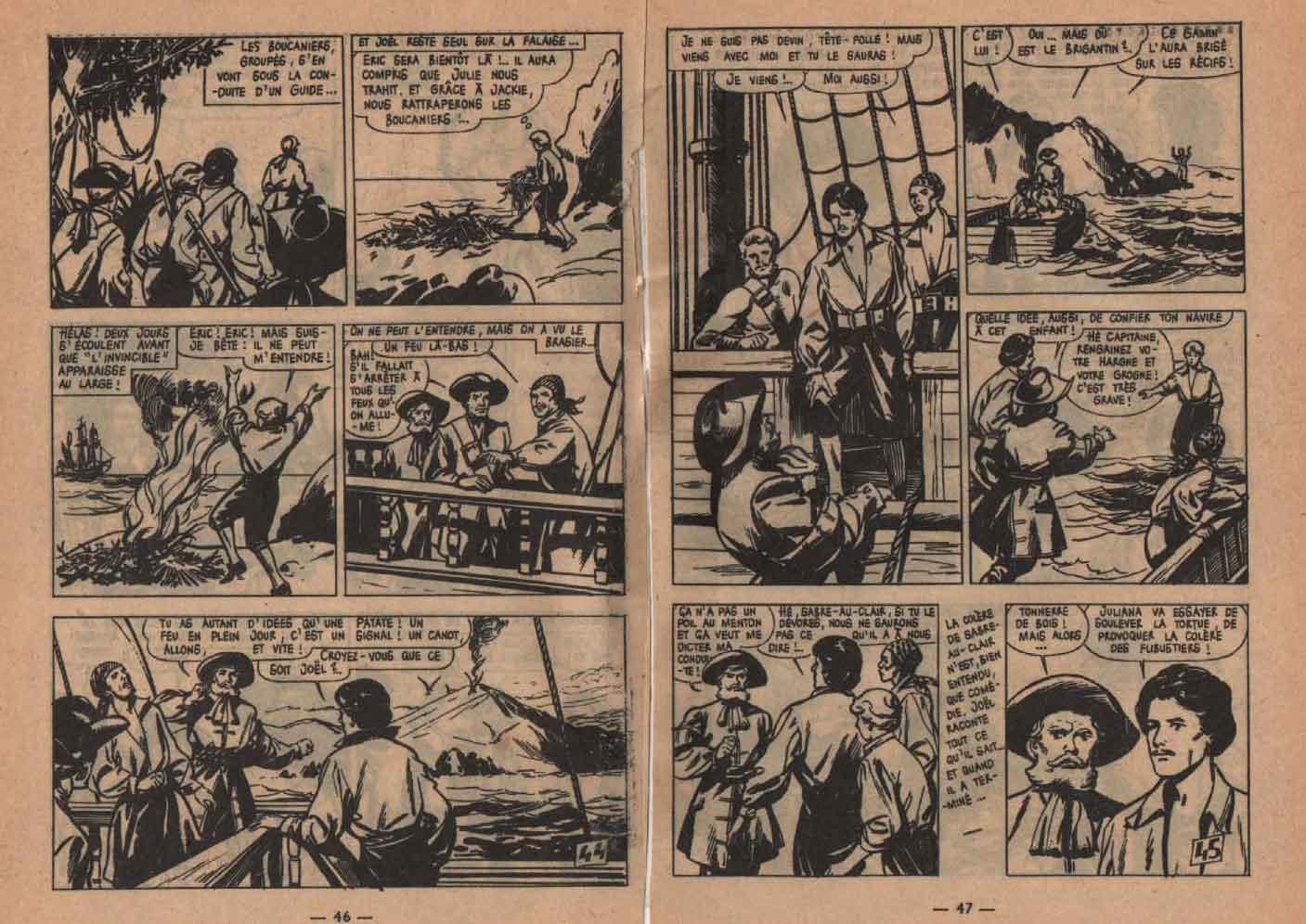 « Éric Tête folle» : Pirates n°12 (05/1964).
