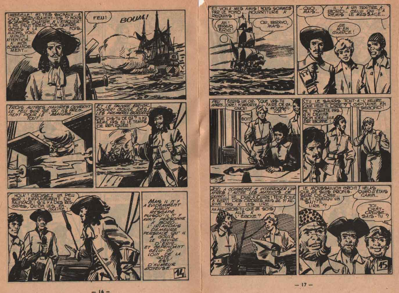 «Éric Tête folle» : Pirates n° 16 (06/1964).