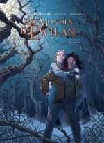 Les  mondes d Ewilan T1 couverture