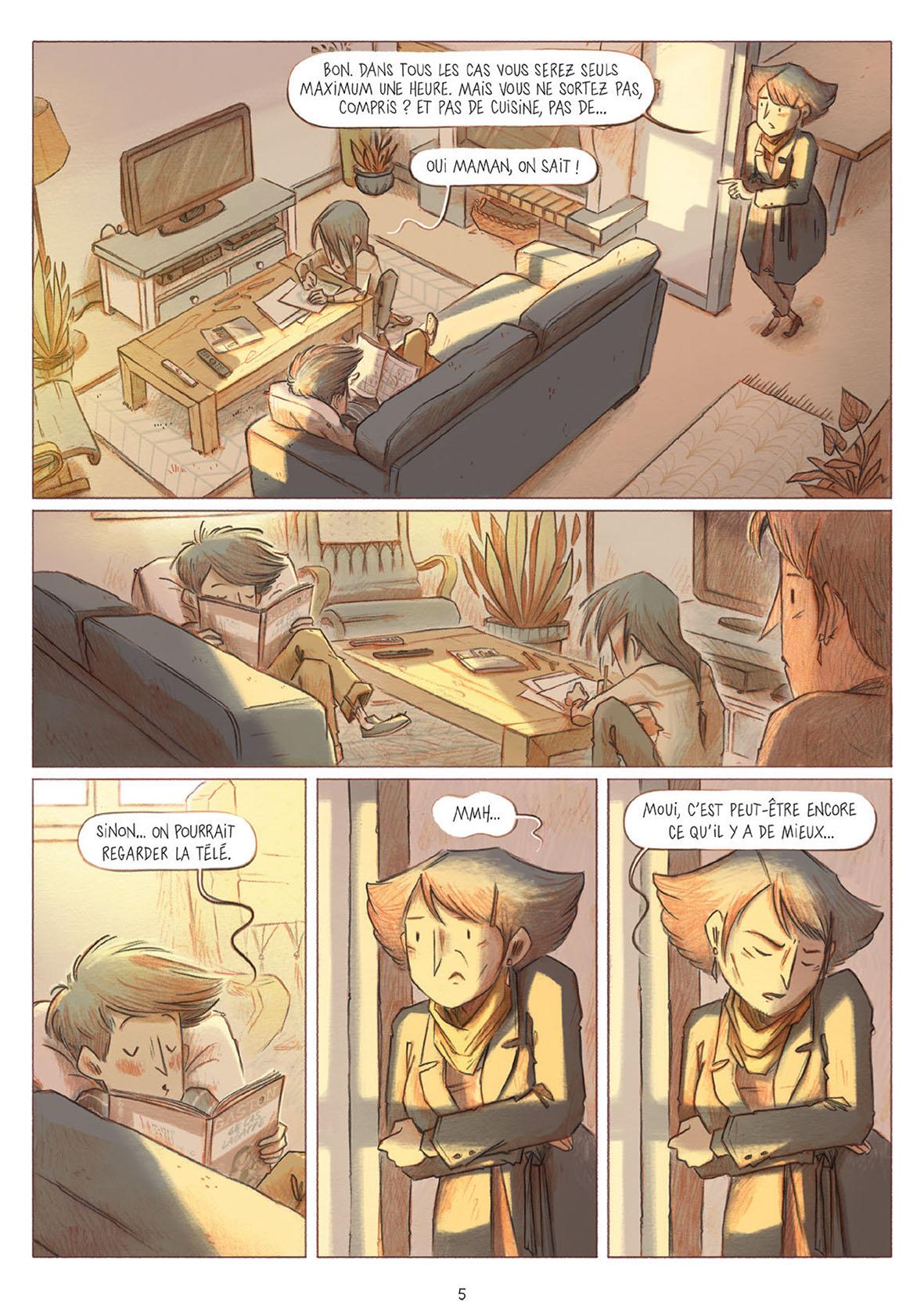 Les Croques T3 page 5