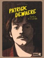 Série noire pour Patrick Dewaere (couverture et extrait : p.4 - Glénat 2021).