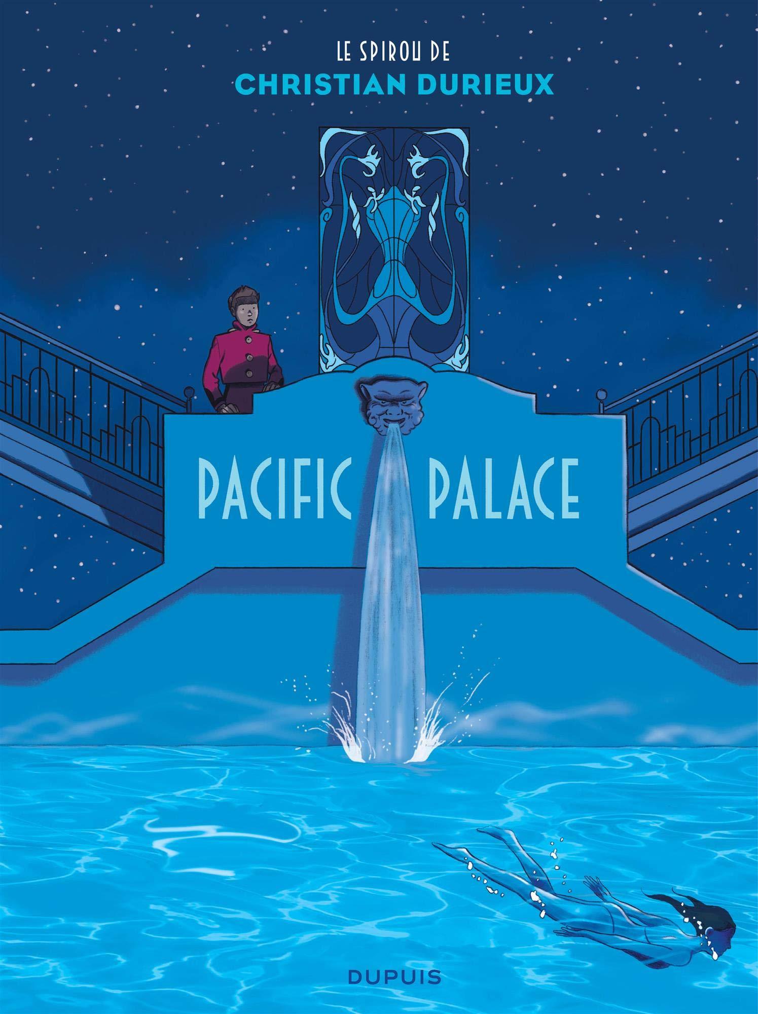 Un mirage contre le Pacific (couverture et extrait - Dupuis 2021).