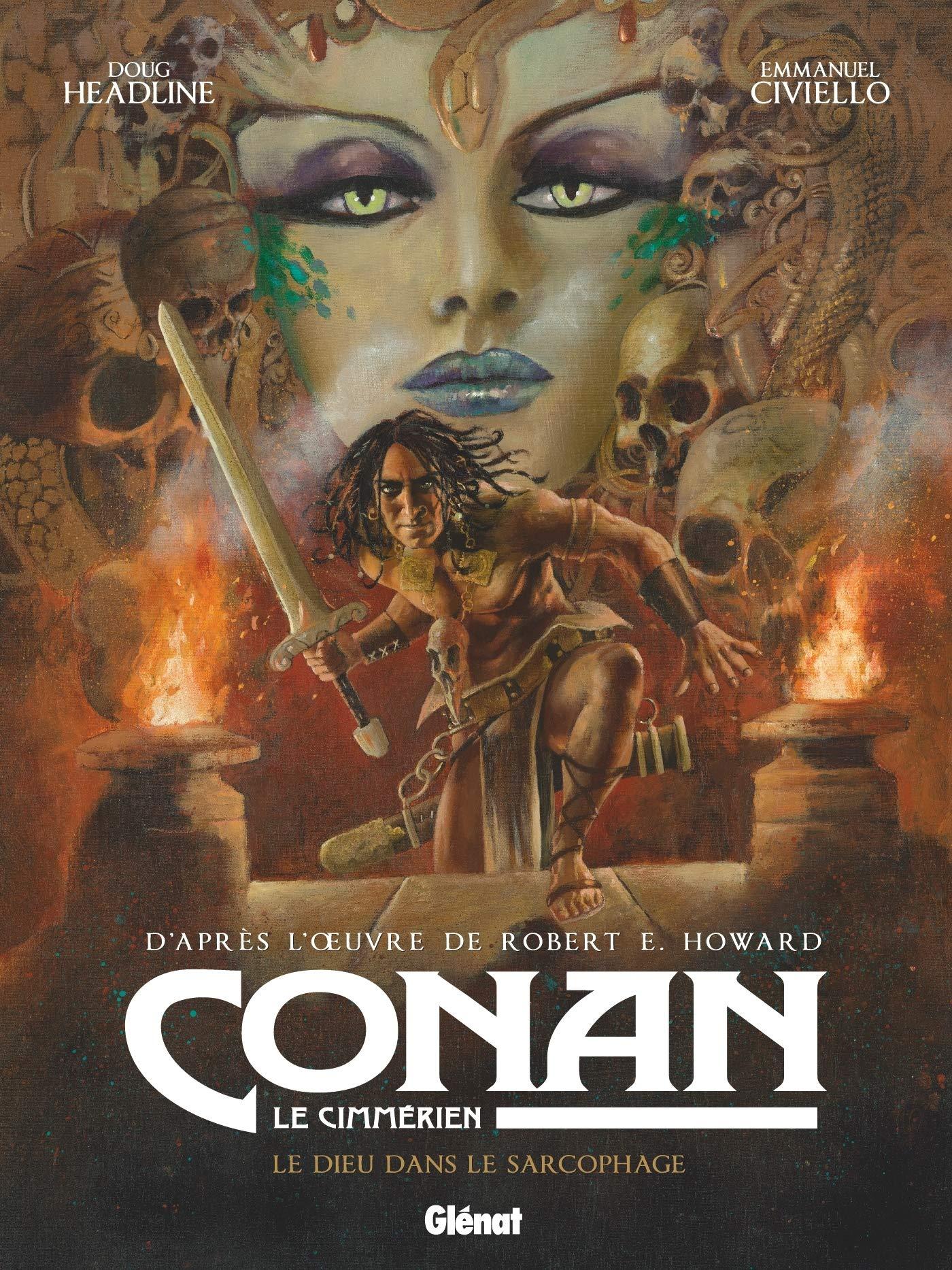 Conan et le temple maudit (Soleil 2021).