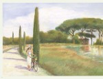 Paysages d'Italie.