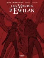 Les  mondes d Ewilan T2 projet de couverture