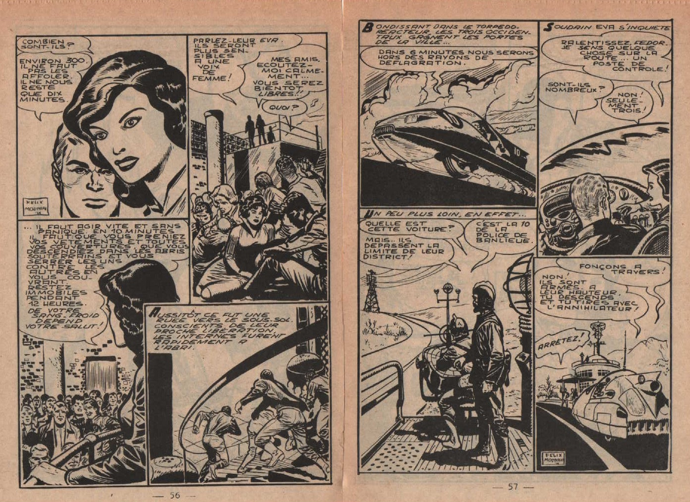 «Les Chevaliers de l'espace» Super boy n°243 (11/1959).