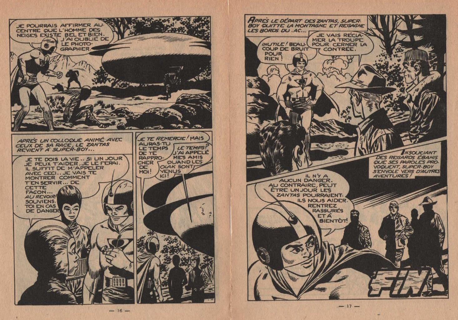«Les Zanitas» Super boy n° 140 (01/04/1961).