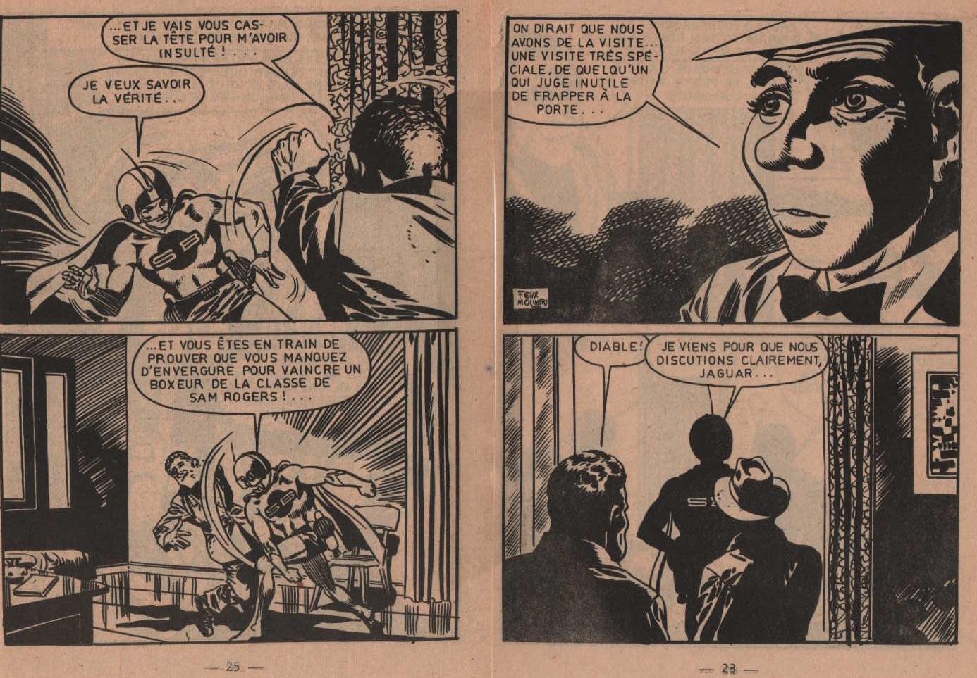 Super boy «La Doublure du champion » Super boy n° 238 (06/1969).