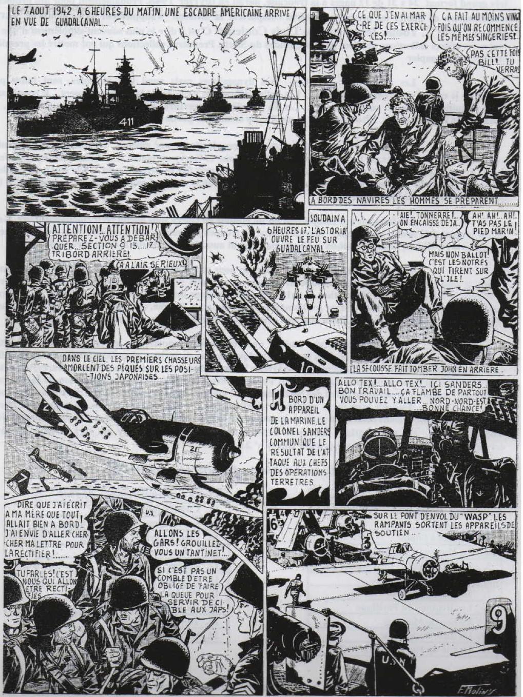 « Garry » premier épisode  Garry n° 1 (20/02/1948).