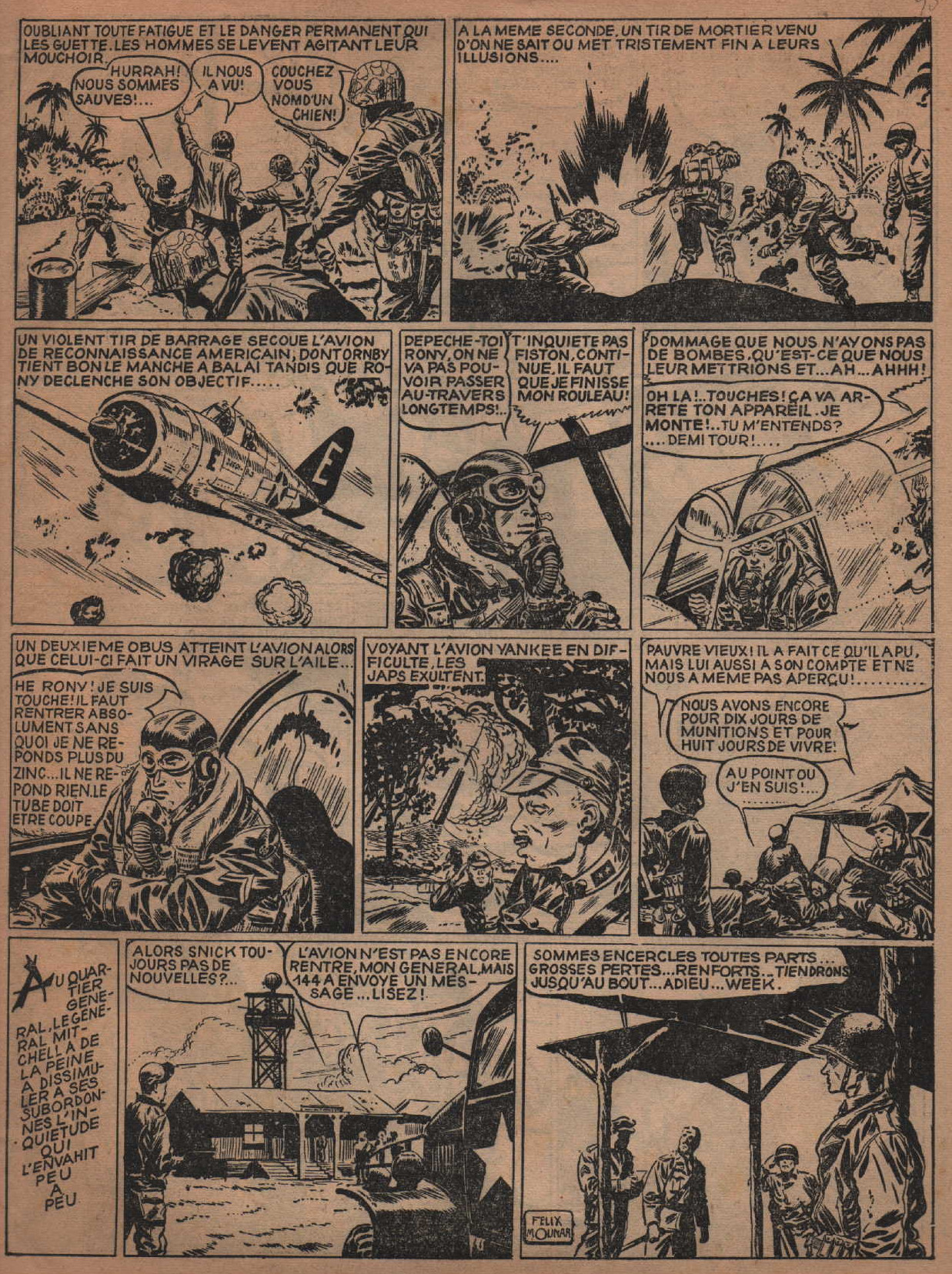 « Le Fou de Madang » Garry n° 9 (20/10/1948).