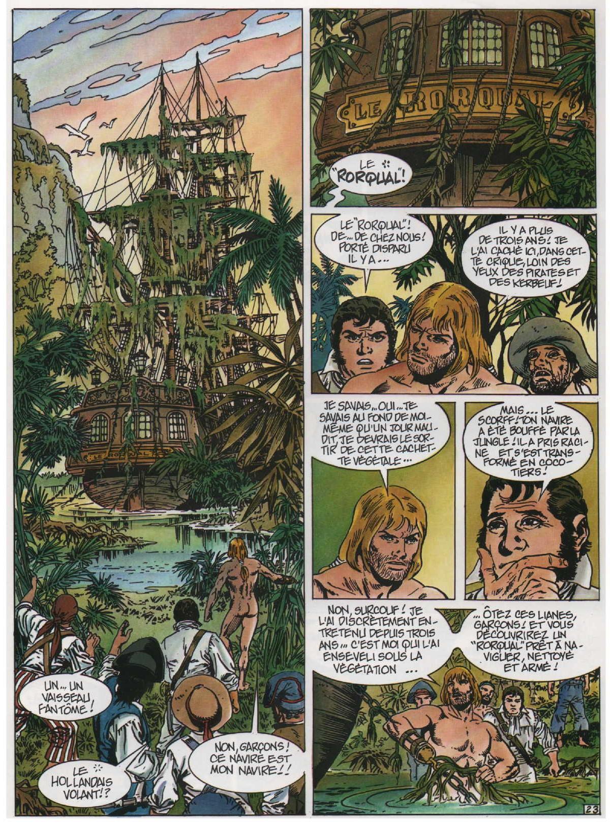 « Les Survivants de l'Atlantique T5 : Tempête sur Trafalgar » éditions Soleil (1997).