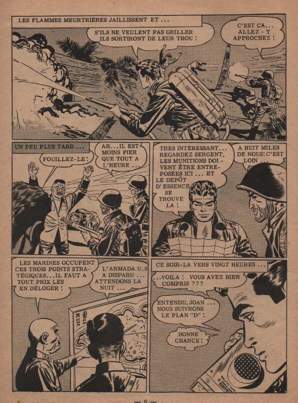 « La Patrouille sacrifiée » Garry n° 131 (04/1959).