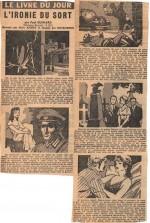 « Le Livre du jour » France-Soir (1958).
