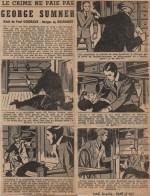 « Le Crime ne paie pas : George Sumner » France-Soir (1964).