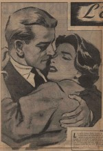 Illustration de roman France-dimanche n° 666 (1959).